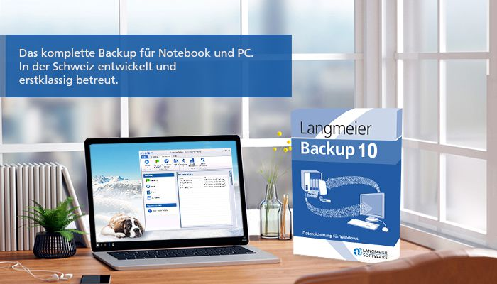Backup-Software - Jetzt Daten sichern   Langmeier Backup 10