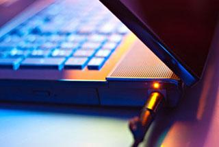 Leere Notebook-Batterien sind die häuftigste Ursache für einen Datenverlust.